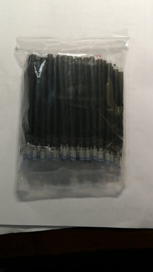 芮翔(RUIXIANG) 芮翔100支装高温消失笔芯服装专用皮革褪色笔退色消字划线 芮翔特供丨粗杆黑色 晒单图