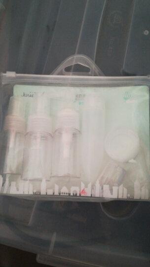今之逸品旅行分装套瓶7件套(压瓶30ml 挤压瓶30g 喷瓶30ml 压瓶15ml 面霜盒10g2个 面霜棒) 晒单图