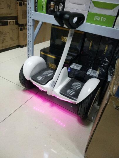 小米(MI) 定制版Ninebot 九号平衡车 智能代步电动体感车(白) 晒单图