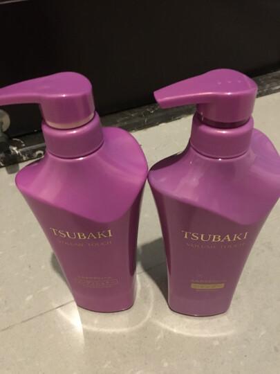 日本资生堂丝蓓绮(TSUBAKI)洗发水露护发素洗头水 金椿洗发水护发素发膜3件套装 晒单图