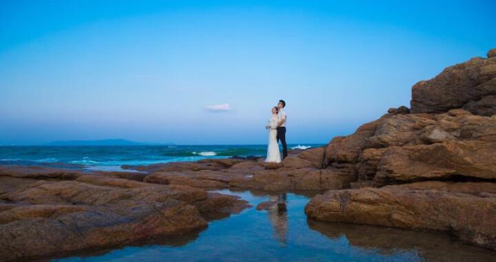 吉蒂视觉婚纱摄影 三亚旅游婚纱摄影清水湾旅拍丽江蜜月旅行拍摄全家福亲子摄影 套系定金3000 晒单图
