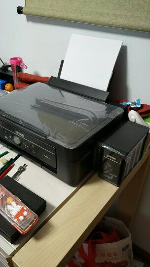 爱普生(EPSON)L485墨仓式智能无线打印机 家用彩色喷墨一体机(打印 复印 扫描 手机打印 无线直连) 晒单图