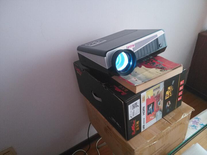 轰天炮 LED86 投影仪家用高清1080P投影机智能办公手机无线wifi 3D投影仪 LED-86+升级智能安卓 晒单图
