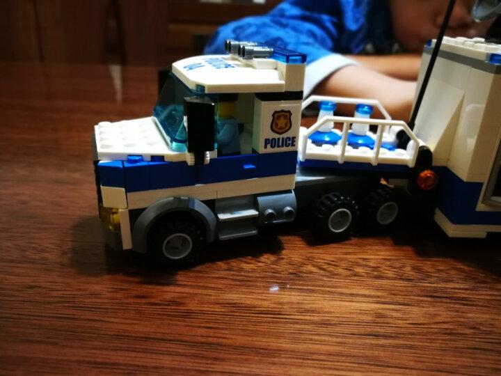 LEGO 乐高 City 城市系列警察局消防局 儿童创意拼插积木玩具 追踪重型拖车 60137 晒单图