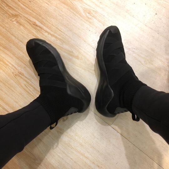 李宁悟道2运动休闲鞋2018秋季新品男高帮袜套篮球文化鞋 标准白-2 45(男11) 晒单图