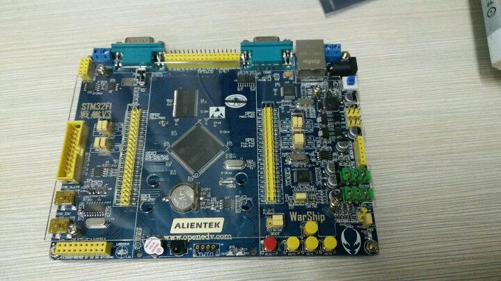 德飞莱 新战舰STM32F103ZET6 ARM开发板 M3核stm32学习板 开发板+仿真器 STLINK仿真器 晒单图