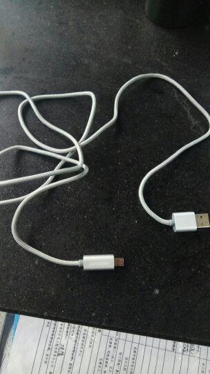 诺希(NOHON)1007 安卓数据线 手机充电线 快充Micro支持华为小米vivo/oppo红米三星魅族 1.5米银 晒单图