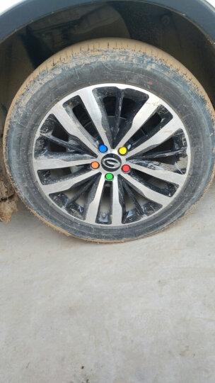 洛玛 传祺GS4轮毂螺帽 传祺gs4改装专用轮毂螺丝保护盖汽车轮胎螺母 绿色/一套20个 晒单图