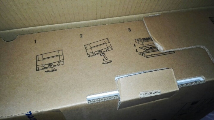 NEC VE2708XI(白色) 27英寸宽屏液晶电脑显示器 IPS广视角 纤薄机身白色 晒单图