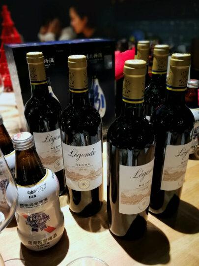 法国进口红酒 拉菲(LAFITE)传奇梅多克红葡萄酒 6支经典蓝色礼盒装 750ml*6瓶(ASC) 晒单图