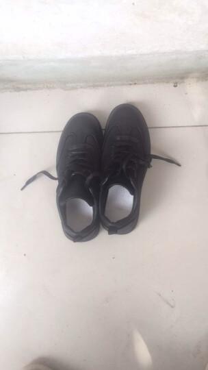 宸超(CHENCHAO) 男鞋商务休闲鞋子男2018秋冬季新款低帮厚底板鞋休闲鞋男 1665D 白色低帮 41 晒单图