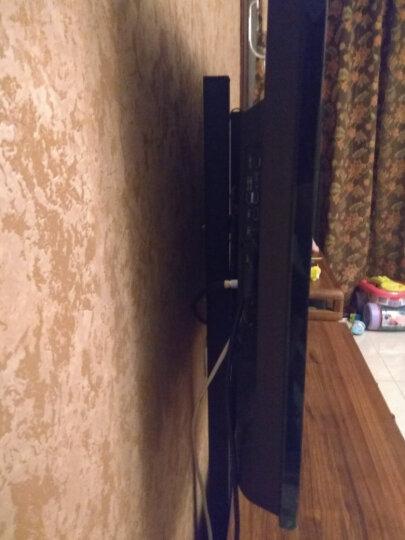 艾美仑32-70英寸金属电视底座增高支架免打孔液晶落地立架小米4A/4X夏普索尼三星康佳KKTV挂架 H2 连体机顶盒支架(适用孔距100-400) 晒单图