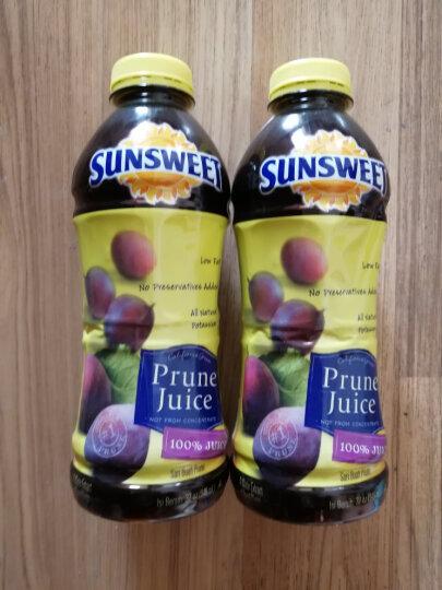 946ml*2瓶装美国Sunsweet日光牌加州西梅汁进口纯果汁饮品果蔬汁饮料孕妇可以喝 晒单图
