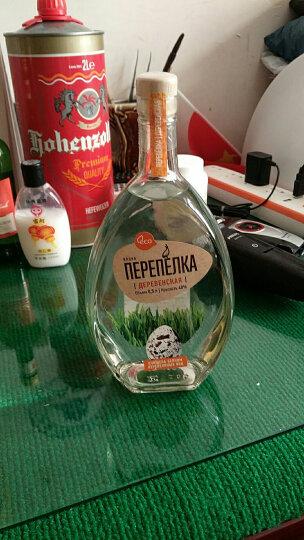 俄罗斯洋酒 原瓶进口烈酒 鹌鹑牌伏特加 500ML 农庄 单支 晒单图