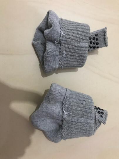 飞客瑜伽袜五指袜颗粒防滑露背五趾专业运动纯棉圆头袜透气吸汗耐磨男女士舞蹈袜子成人均码 黑底白点手套 晒单图