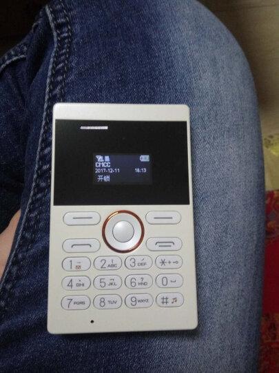 COTTEE E1名片型学生手机 纤薄 时尚个性 儿童卡片小手机 白色 晒单图