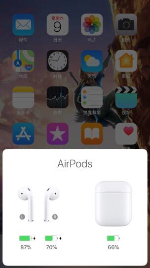 苹果Apple AirPods无线蓝牙耳机 原装iphone7/8/x手机耳机 MMEF2CH/A 国行正品 晒单图