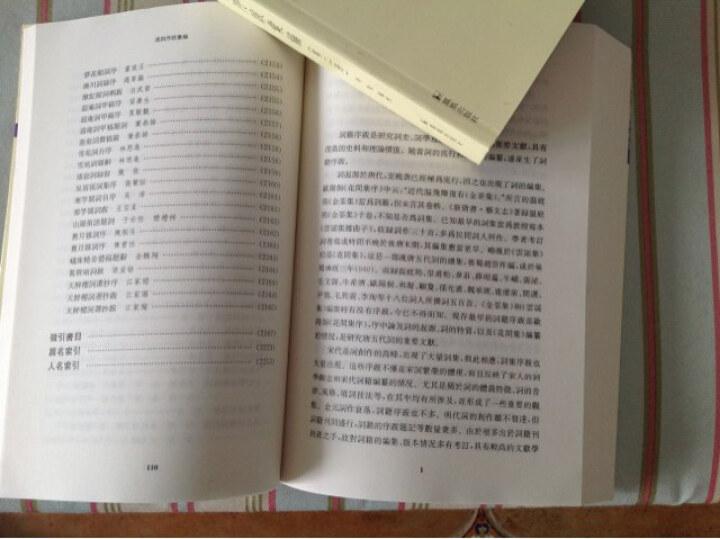 古典文献新视野丛书:清词序跋汇编(套装共4册) 晒单图