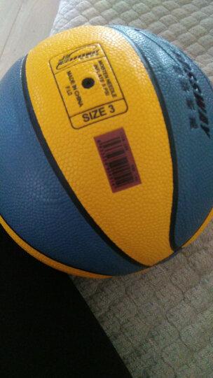 克洛斯威软皮篮球三号300宝宝玩具幼儿园儿童游戏室内外篮球 300蓝黄色-3号 晒单图