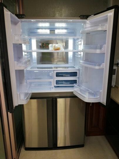 夏普(SHARP)605升 原装进口十字对开门冰箱 变频风冷无霜 保湿冷却板 速冷速冻 SJ-EX79F-SL 晒单图