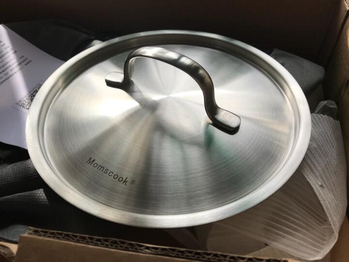 Momscook 不锈钢奶锅 小汤锅复底加厚小奶锅煮热牛奶锅电磁炉小锅 18x10.5cm 2L奶锅(TL1810D) 晒单图