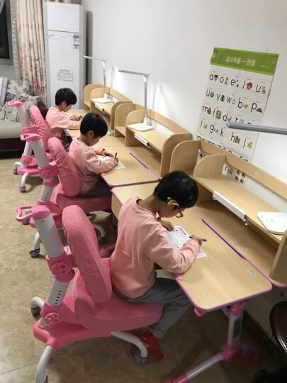 心家宜 儿童学习桌 学习桌 学生学习桌 可升降儿童书桌 学生课桌 写字桌 小孩课桌 公主粉 105cm学习桌(单桌+书架/无椅子) 晒单图