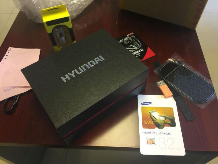 HYUNDAI 专车专用行车记录仪高清隐藏式记录仪WIFI监控摄像头停车监控双镜头可选 奥迪A3 A4L A6L A8L Q5 Q3 专用 单镜头+32G卡【不包安装】 晒单图