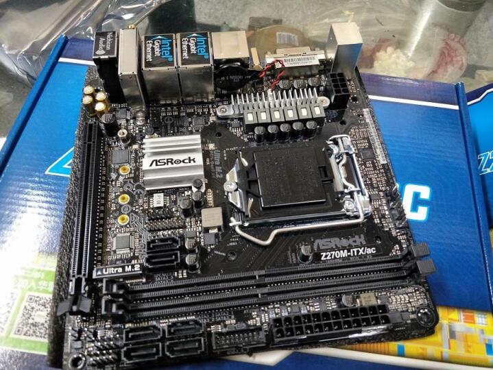 华擎(ASRock)Z270M-ITX/ac主板( Intel Z270/LGA 1151 ) 晒单图