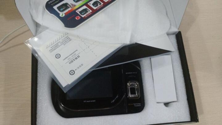华本(HWABO)3D活体智能指纹考勤机打卡机刷卡签到门禁考勤一体机EC12 企业WIFI版 晒单图