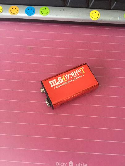 次世代 镍氢低自放电9v充电电池200mAh麦克风 KTV 仪器仪表8.4V电池 晒单图