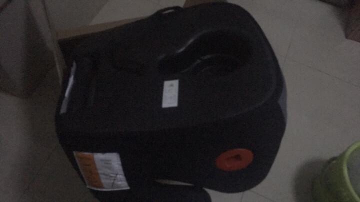 怡戈(Ekobebe) 儿童安全座椅增高垫车载3-12岁宝宝简易汽车用便携式坐垫 浪漫紫+isofix连接带 晒单图