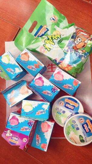 百吉福(MILKANA)成长奶酪 草莓味 100g(4粒装 再制干酪 2件起售) 晒单图