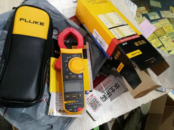 福禄克(FLUKE) F319 交直流真有效值数字钳形电流表 钳表 晒单图