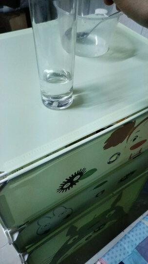 家旺达床头柜现代简约贴纸床边组装柜储物收纳柜子 龙蓝-2门1列鞋柜 晒单图