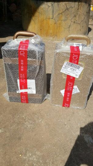 西班牙原瓶进口红酒  西莫赫朗德维罗妮卡(DOP级)干红葡萄酒双支精品皮盒礼盒装750ml*2瓶(含四件套) 晒单图