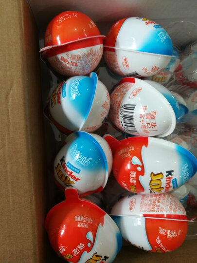 费列罗健达奇趣蛋巧克力儿童出奇蛋零食礼物男孩女孩版混合套装12粒 男孩版 9粒 晒单图