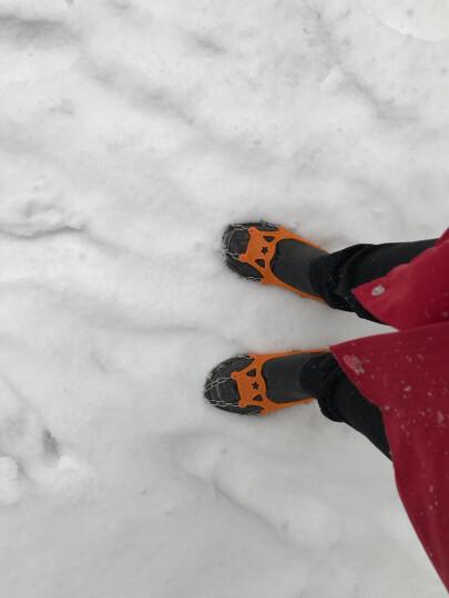 红色营地 户外冰爪 防滑鞋套雪地攀岩装备雪爪登山鞋钉链 简易冰抓 13齿 晒单图