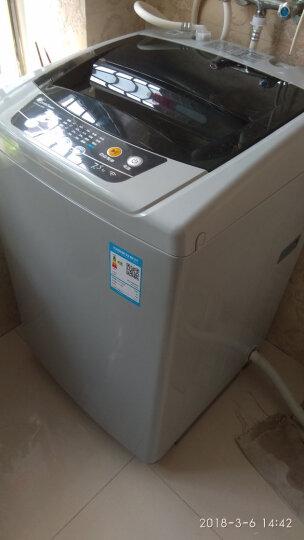 小天鹅(LittleSwan) 7.5公斤全自动波轮洗衣机 京东微联智能控制 灰色 TB75-easy60W 晒单图