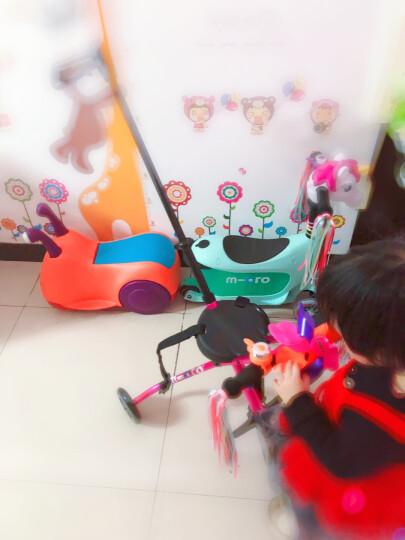 【德国红点设计获奖】瑞士micro迈古米高儿童滑板车迷你储物箱滑步车推杆可拆卸三轮儿童滑行车 薄荷绿 晒单图