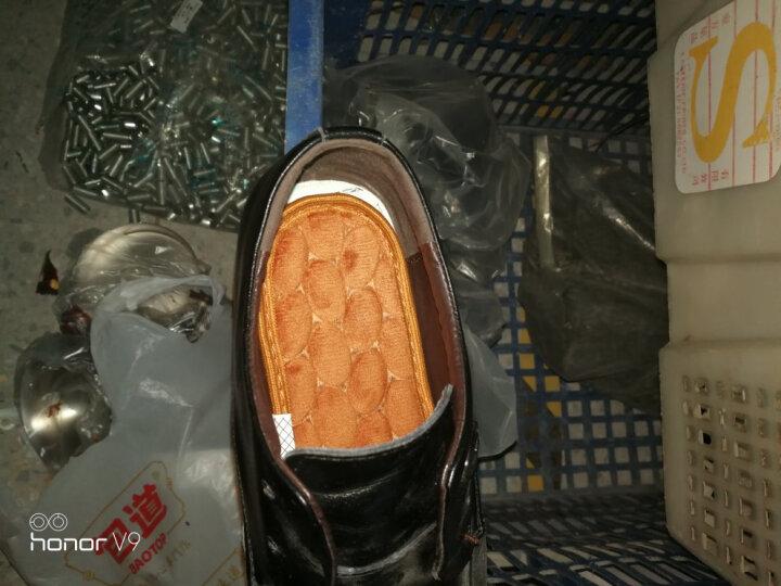 步云防臭鞋垫磁石按摩鞋垫足部鞋垫穴位磁疗吸汗减震运动防滑 磁敷按摩(1双装) 39码 晒单图