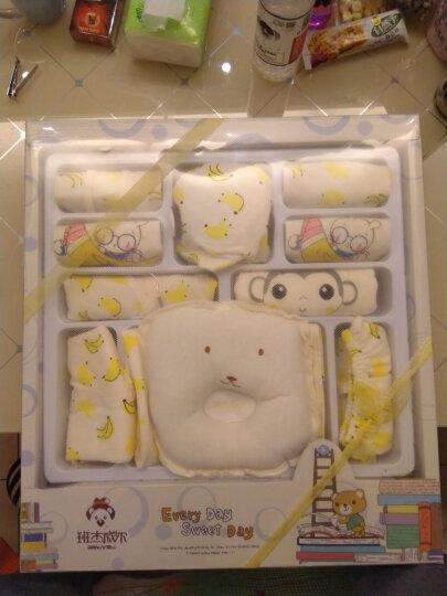 班杰威尔 婴儿礼盒新生儿衣服纯棉春夏秋冬款宝宝满月百日礼婴儿用品 加厚香蕉猴C款(18件套) 晒单图