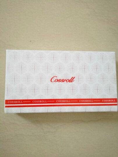 Cossroll新款女士钱包牛皮手拿包韩版时尚钱夹女包钱包女长款真皮 黑色 晒单图