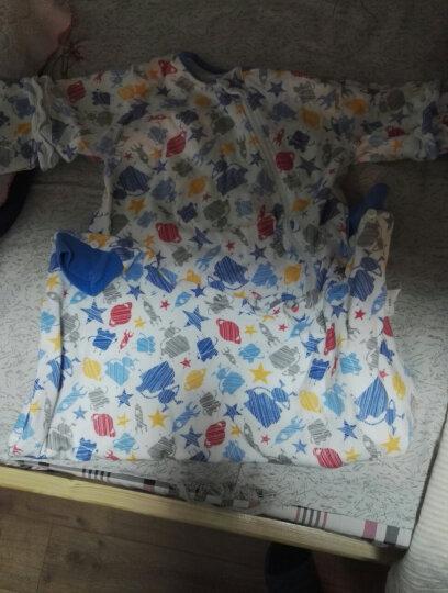 米乐鱼 婴儿睡袋抱被新生儿童宝宝秋冬防踢被3段历险太空110*64cm 晒单图