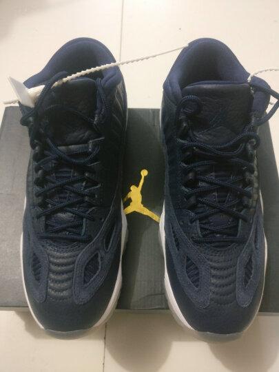 【现货】耐克NIKE Air Jordan 11 Low AJ11 黑红康扣低帮黑白红 AV2187 528895-010 伯爵低帮 44.5 晒单图
