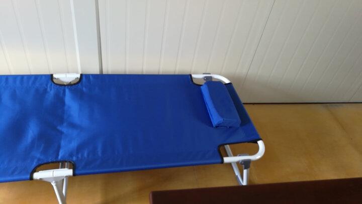 双鑫达 折叠床 单人床 办公室午睡午休床 护理陪护床 行军床 简易床 B-01 晒单图