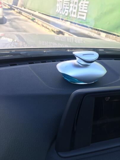 车游者 汽车香水座 车载香水摆件 车内用香水补充液汽车挂件饰品 银色-海洋味(新款) 晒单图