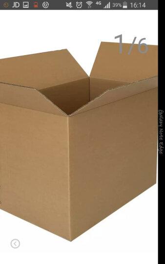 巨惠包装搬家纸箱80*50*60五层加厚特硬超大 纸箱搬家箱包装纸箱纸壳箱纸皮箱 2只 80*50*60cm无扣手 晒单图