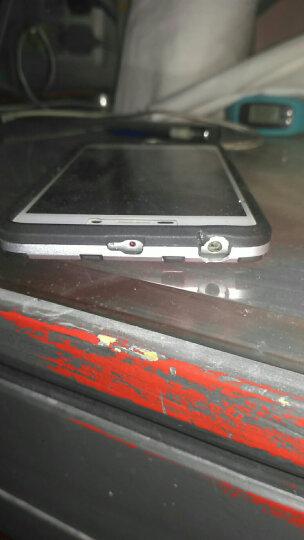 米基 红米3s手机壳保护套防摔硅胶硬男潮防摔 适用于小米红米3S 气质银 晒单图