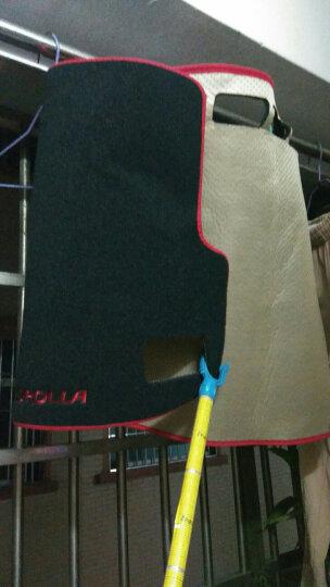 奥擎 丰田全新新卡罗拉避光垫仪表工作台垫 14-17卡罗拉汽车仪表台垫隔热防晒改装避光垫 新款硅胶红边 晒单图