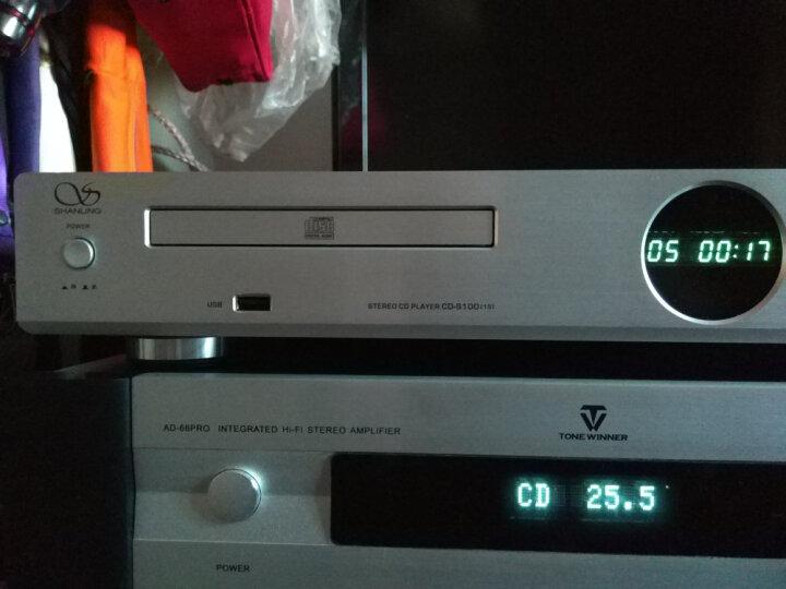 山灵 CD-S100(2015)HIFI发烧CD播放机 家庭发烧音响 USB U盘输入 银色 晒单图